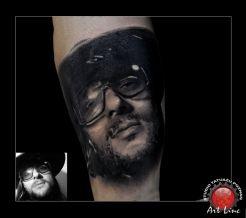 Rsiek Riedel Tattoo , Artist@Dominik Szymkowiak, Art Line Tattoo Poznan