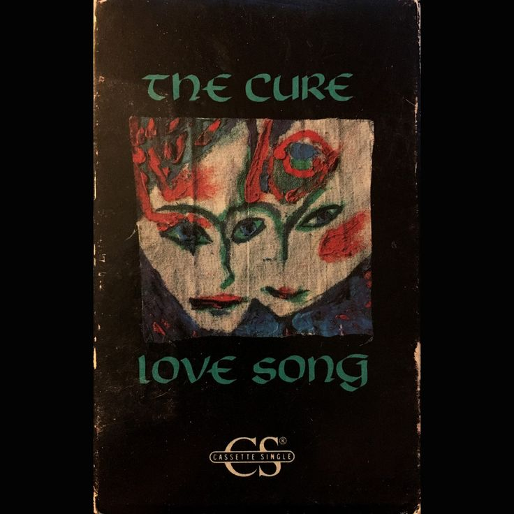 The Cure Love Song / 2 Late - cassette single