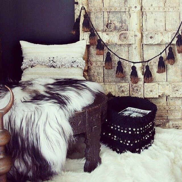 Hippie Bedrooms Diy Tassel Tassels Moroccan Decor Decor Room Boho Decor Boho Style Boho Chic Interior Decorating