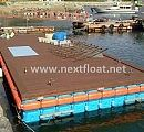 This is floating dock in Korea which allow to fishermen, passenger, captain can use it as safety platform.  넥스트플로트를 이용해 설치된 계류장 시설로 안정성과 실용성에서 뛰어난 성능을 발휘합니다.