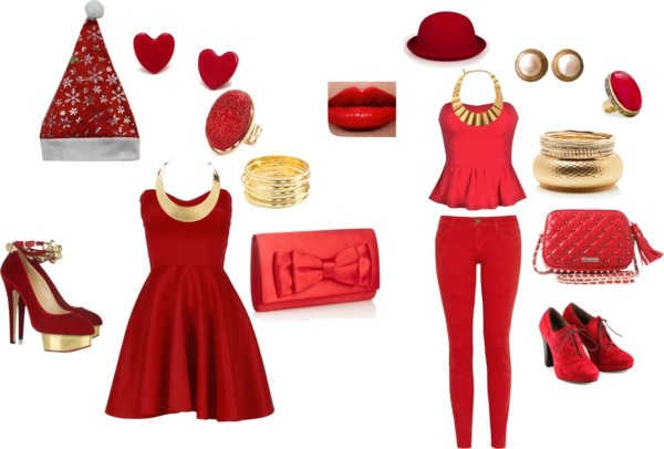 """MERRY CHRISTMAS ! :D"" by theereemo on Polyvore"