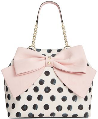 Betsey Johnson Trap Tote | pinterest @briefizzy
