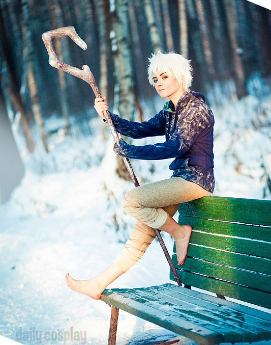 Akai-Ritsuka as Jack Frost from Rise of the Guardians ... Rise Of The Guardians Cosplay