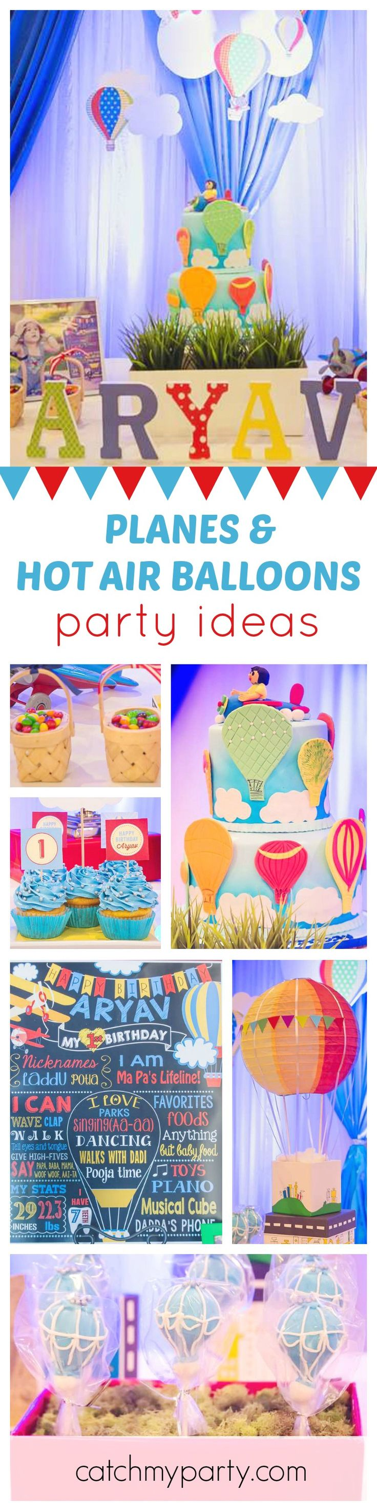 99 best Hot Air Balloon Party Ideas images on Pinterest Balloon