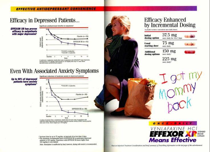 Wyeths list of effexor withdrawal symptoms