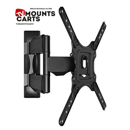 Articulating Cantilever Full-Motion Wall Mount for 32'' - 47 LED, LCD, OLED, Plasma, HD TV Flat Screen TVs up to 60lbs P4