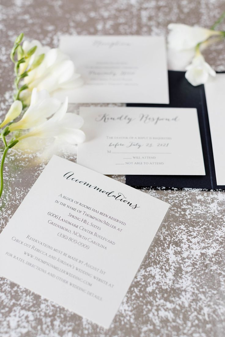 A Formal Wedding Calls For Classic And Chic Wedding Invitations. This Style  From Invitations By