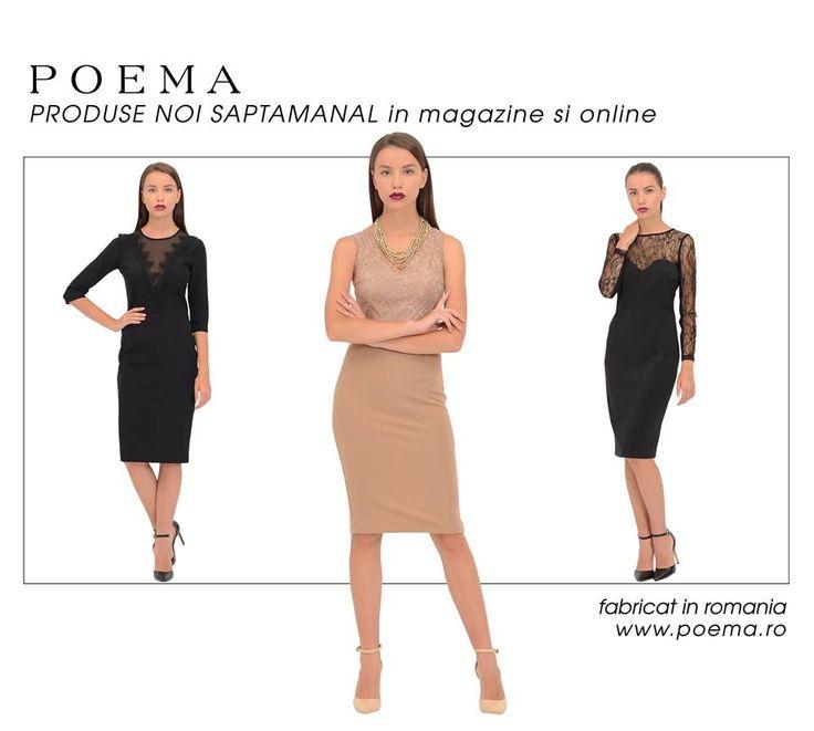 Rochii de seara elegante POEMA http://shop.poema.ro/poemashop