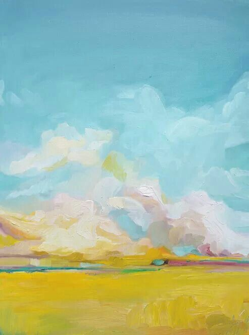 Love this abstract landscape