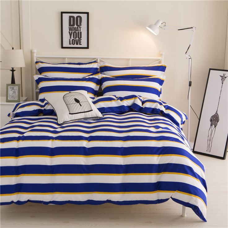 cara carle bed linen 4pcs cotton bedding sets king queen twin size bedspread duvet cover bed - Queen Bed Sheets