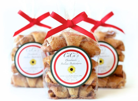 Indulge in hand-rolled Italian cookies made from a light buttery dough and filled with cinnamon, sugar and walnuts. Each month you will receive two (2), three (3), or six (6) bags depending on what option you choose $29 /monthItalian Cookies, Gift Ideas, Bags