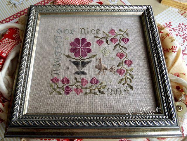 140 best images about cross stitch blackbird designs on for Christmas garden blackbird designs