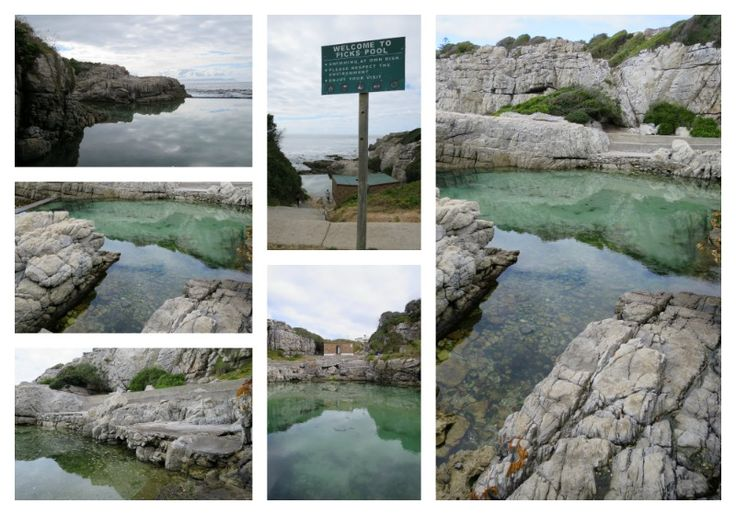 Ficks Pool - Westcliff Hermanus To get there drive along Marine Drive towards the New Harbour - you will see the sign on the road.