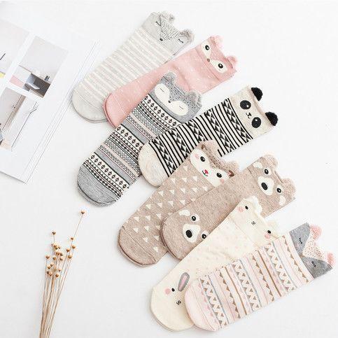 Kawaii Animal Socks