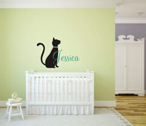 Best Kitten And Cat Themed Vinyl Wall Decals For Nurseries And - Custom vinyl wall decals cats