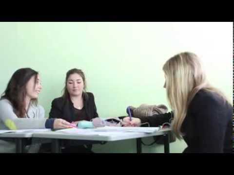 A typical day of a French student - YouTube