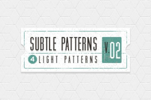 Volume 2 of our subtle light texture patterns background with 4 light tile patterns ideal to create a subtle and original...