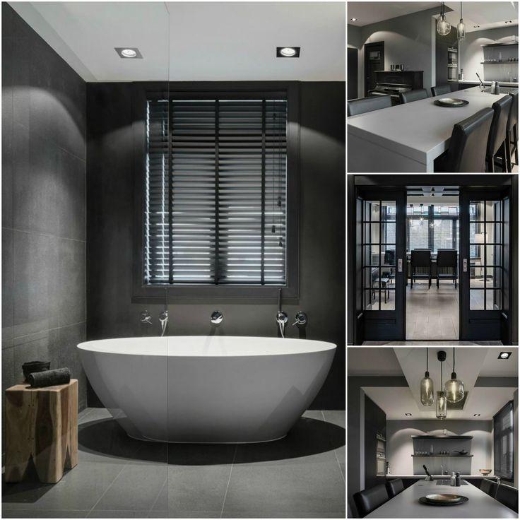#mariskajagt #designer #interior #design #style #grey #black #white #modern #bathroom #kitchen #zwart #wit #grijs #keuken #badkamer#mini #moodboard #minimoodboard #leemwonen #blogazine