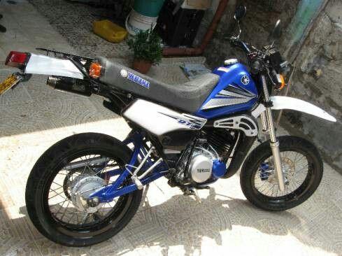 Yamaha DT  en duro 125.
