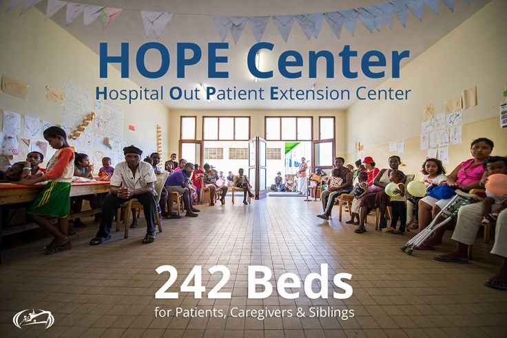 Mercy ships establishes a hospital outpatient extension