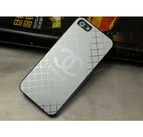 Metali Chanel iPhone 5 Case Cover Silver - Free Shipping Luxury Cases