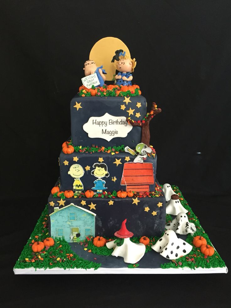 It's the Great Pumpkin Charlie Brown cake