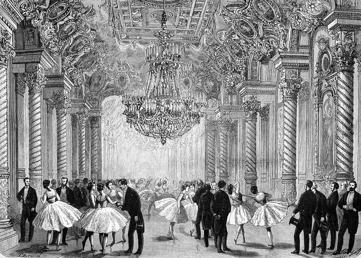 Foyer Des Arts Paris : The new paris opera house le foyer de la danse