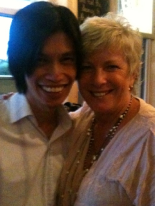 With the fabulous Binh An Nguyen in Adelaide