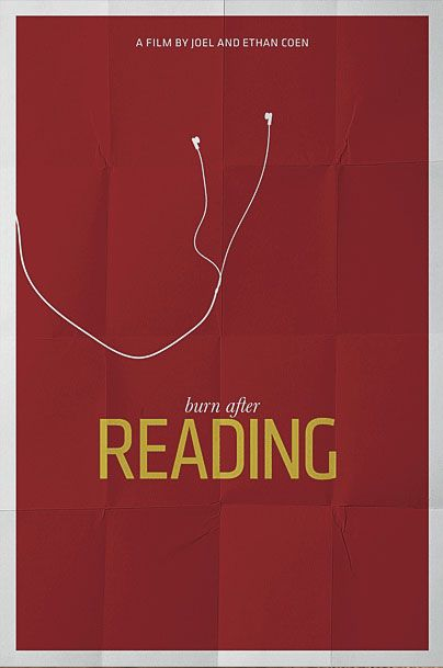 Movie Poster: Burn After Reading - DAILYPOP.in