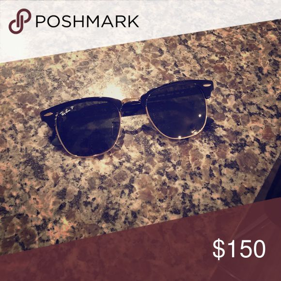 Polarized Club Master Ray Ban Sunglasses Brand new and in perfect condition Ray-Ban Accessories Sunglasses