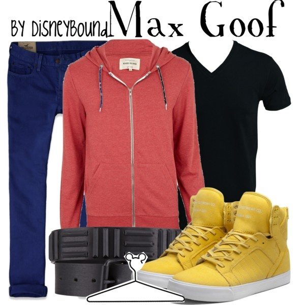 """""""Max Goof"""" by lalakay on Polyvore #disney: A Goofy Movies, Disneybound Fashion, Disney Outfit, Disneybound Fandoms Fashion, Disney Bound, Max Goof, Men'S Disneybound, Goofy Movies Max, Disney Fashion"""