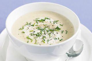 Receta de Cocina: Crema de coliflor con queso