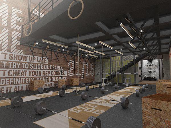 Home Gym - Crossfit DLX on Behance - http://amzn.to/2fSI5XT