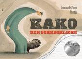 Kako kommt eines Tages in einer Kiste aus Afrika im Pariser Zoo an. Zoowärter Simon kümmert sich mit viel Liebe und Hingabe um das kleine Nilpferd. Es wächst zu einem stattlichen Tier heran, wird zum Zuschauermagnet und bekommt dank seiner riesigen Stoßzähne den Namen Der Schreckliche.