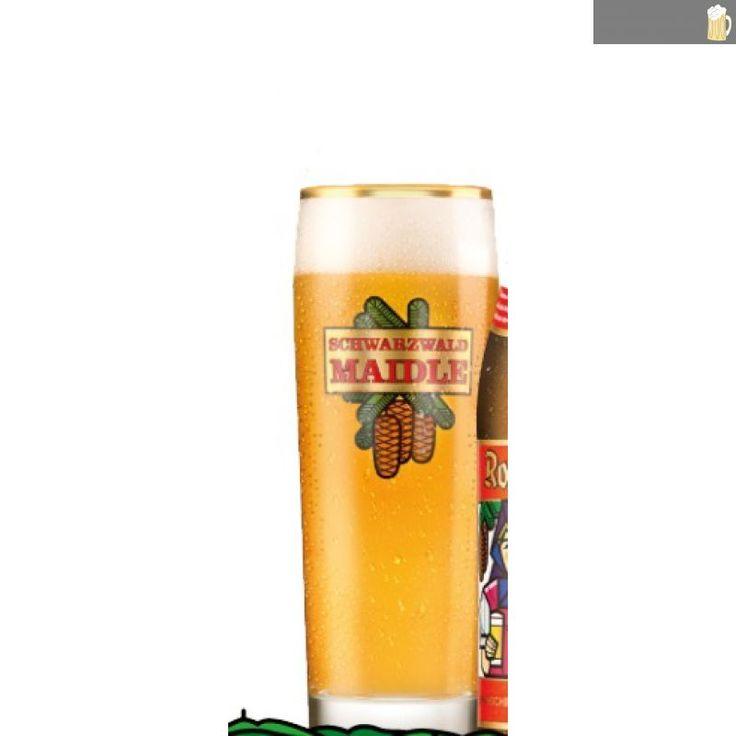 Rothaus Bistro-Becher Schwarzwald-Maidle - auf Schwarzwald-Bier-Fanshop.de, dem Shop für Fanartikel der bad. Staatsbrauerei Rothaus AG, sowie der Waldhaus Brauerei., 13,50 €