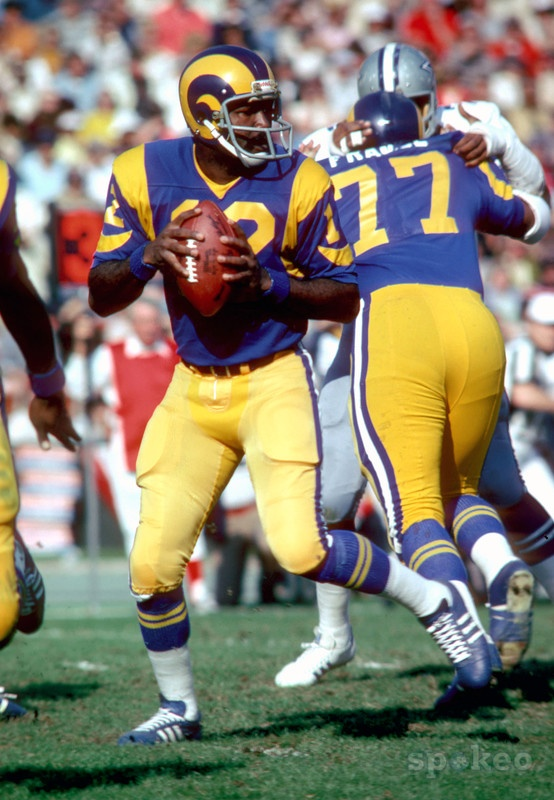 Saw them play at the Coliseum back when they were still here - Los Angeles Rams