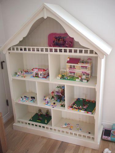 Pottery Barn Kids Dollhouse Bookcase Bookshelf Pick Up Atl Ebay Kid Stuff Pinterest