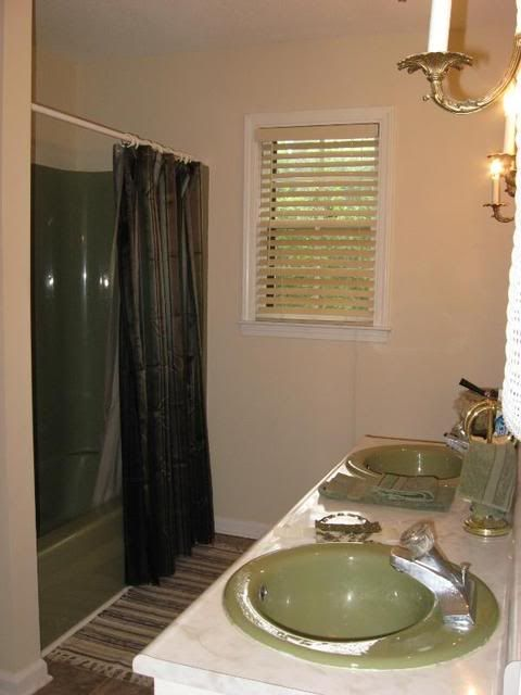 17 best ideas about olive green bathrooms on pinterest for Olive green home decor