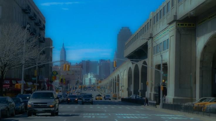 Queens Boulevard, Sunnyside (Queens) New York