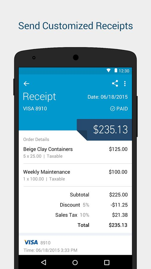 intuit go payment app home screen - Google Search