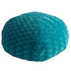 Fuzzy Teal Bean Bag Chair | review | Kaboodle -- For the playroom
