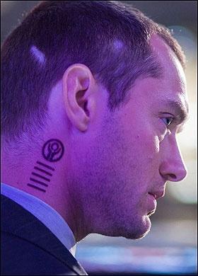 Repo Men tattoo