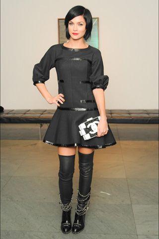 Leigh Lezark, in Chanel.