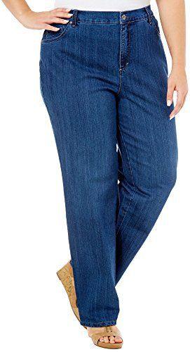 New Trending Denim: Gloria Vanderbilt Womens Plus-Size Amanda Tapered Leg Jean Average Length 31.5 Inch Inseam (16W, Blue (Scottsdale)). Gloria Vanderbilt Women's Plus-Size Amanda Tapered Leg Jean Average Length 31.5 Inch Inseam (16W, Blue (Scottsdale))  Special Offer: $24.99  188 Reviews Gloria Vanderbilt Ladies' Amanda Plus Size Stretch Denim Jean Features: Colors: Black, Gray (Glacial Gray), Dark Blue...
