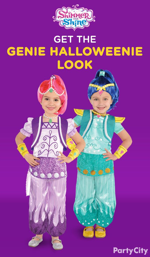 549 best shimmer and shine ideas images on pinterest birthday your girls will shimmer and shine their way through the spookiest night of the year fandeluxe Epub