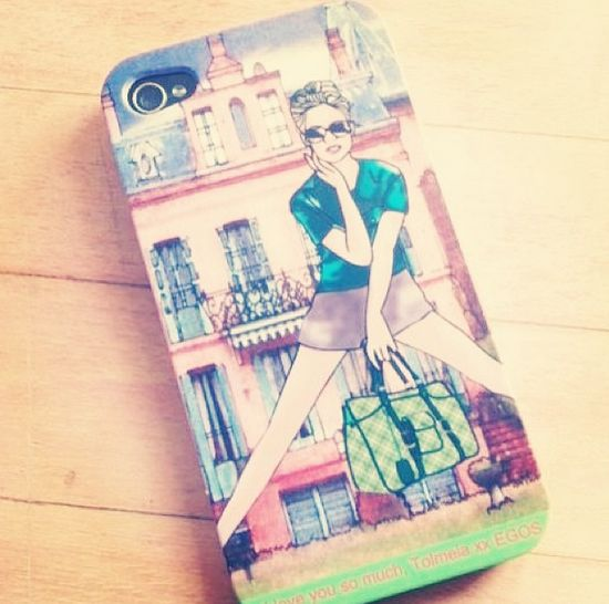 Put YOUR illustration on a case and make it UNIQUE just like this one by tollydollyposhfashion.com. #Design your own #custom #iphonecase, #samsungcase or #skin at caseapp.com | se | no | dk | fi | de | co.uk | nl