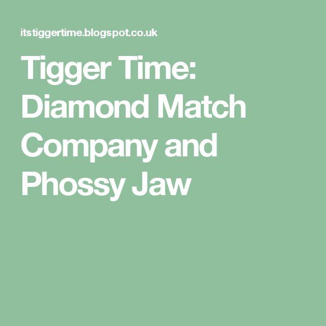 Tigger Time: Diamond Match Company and Phossy Jaw