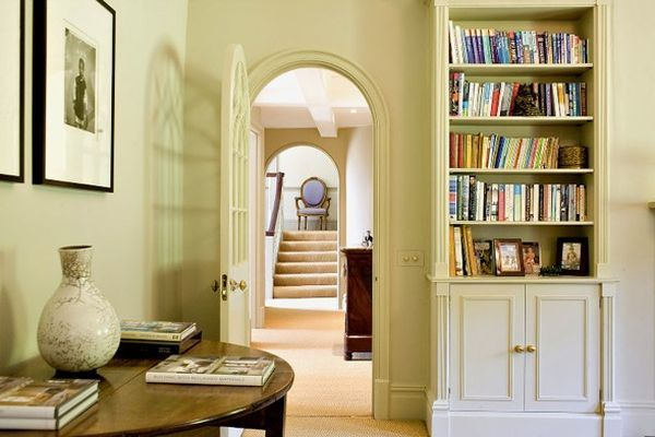 Countryside English home library