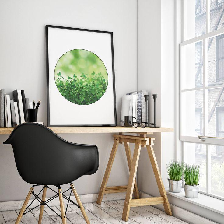 Plants Print, Wall art Print, Digital Print, Scandinavian Art, Digital Download, Nature Art, JPG, Green Plant Dekor by EmmaCreativeHome on Etsy