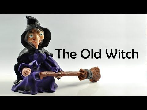 The Old Witch - polymer clay TUTORIAL